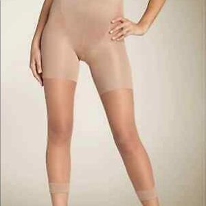 Assets High Falutin Footless Sheer Tights Nude F
